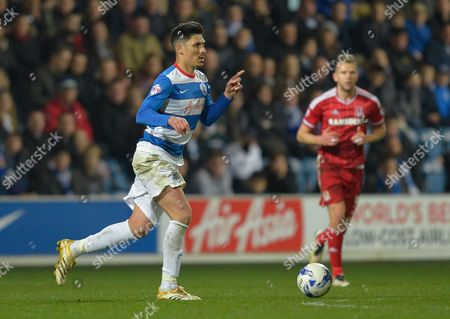 Alejandro Faurlin of QPR during the Sky Bet Championship match between QPR and Middlesbrough played at Loftus Road, London on April 1st 2016