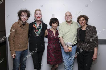 Arthur Lewis, Justin Vivian Bond, Catie Lazarus, David Simon, Suad Amiry