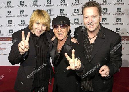 The Scorpions - Tobias Kunzel, Klaus Meine and Sebastian Krumbiegel