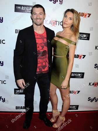 Stock Picture of Chloe Rose Lattanzi and boyfriend James Driskill