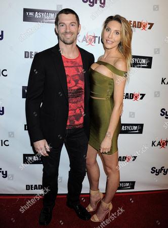 Stock Image of Chloe Rose Lattanzi and boyfriend James Driskill