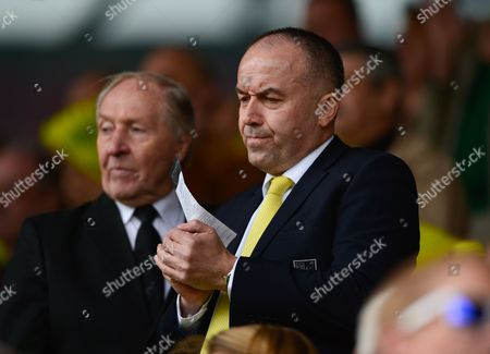 Norwich City CEO David McNally during the Premier League match between Norwich City and Newcastle United played at Carrow Road, Norwich on April 2nd 2016