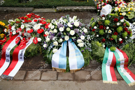 Editorial photo of Guido Westerwelle Funeral, Cologne, Germany - 02 Apr 2016