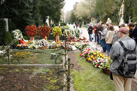 Stock Photo of Tributes