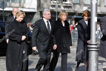 Joachim Gauck, Hannelore Kraft