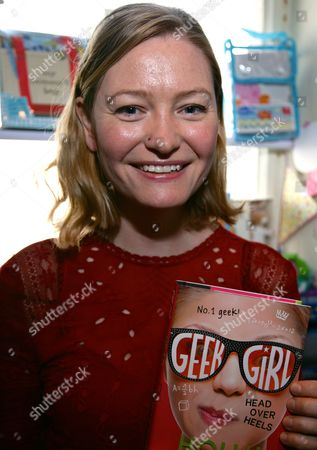 Editorial image of Holly Smale 'Geek Girl' book promotion, Brighton, Britain - 02 Apr 2016
