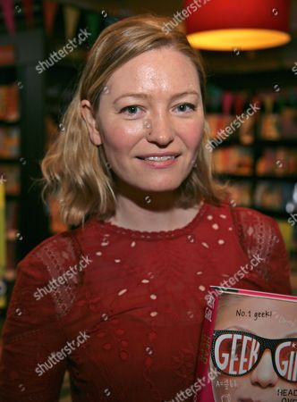 Editorial photo of Holly Smale 'Geek Girl' book promotion, Brighton, Britain - 02 Apr 2016