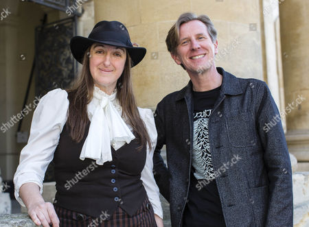 Frances Hardinge and Philip Reeve