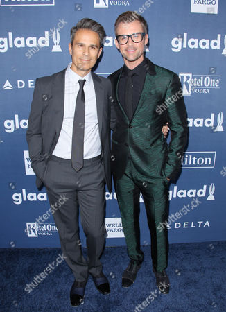 Editorial picture of 27th Annual GLAAD Media Awards, Arrivals, Los Angeles, America - 02 Apr 2016