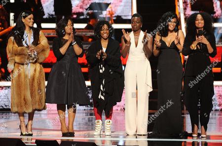 Rihanna, Shonda Rhimes, Gladys Knight, Danai Gurira, Beverly Bond, Tracee Ellis Ross, Debra L. Lee, Amandla Stenberg, Alicia Garza, Opall Tometi