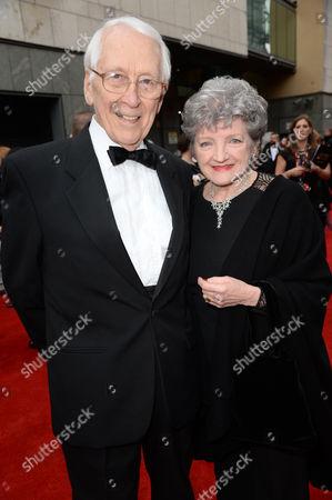 Stock Photo of Jerry Harte and Julia McKenzie