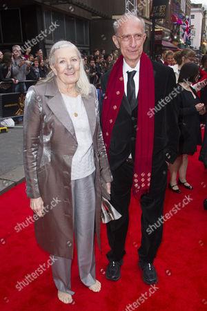 Vanessa Redgrave and Martin Sherman