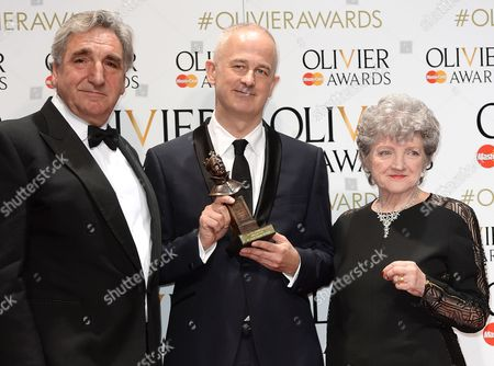 Editorial image of 40th Olivier Awards, Press Room, The Royal Opera House, London, Britain - 03 Apr 2016