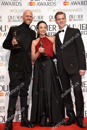 Wayne McGregor, Alessandra Ferri and Adam Cooper