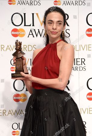 Editorial photo of 40th Olivier Awards, Press Room, The Royal Opera House, London, Britain - 03 Apr 2016