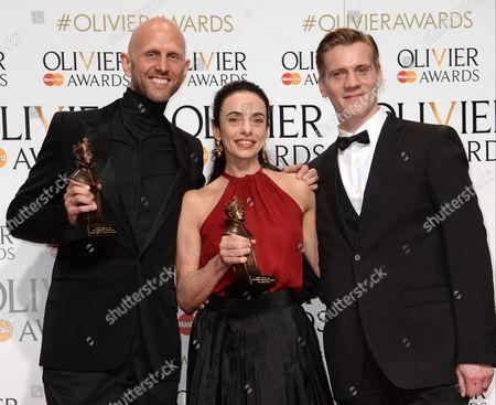 Stock Image of Wayne McGregor, Alessandra Ferri and Adam Cooper