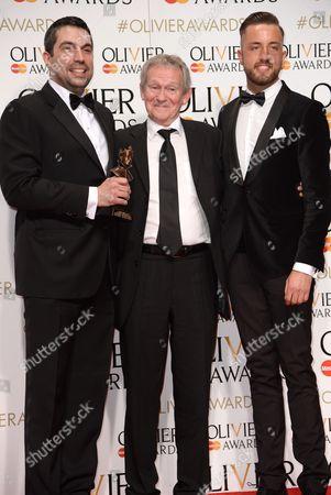 Tristan Baker, Paul Copley and Paul Taylor Mills