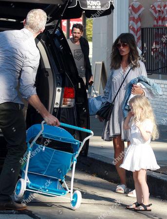 Eric Dane, Rebecca Gayheart and daughter Georgia Dane