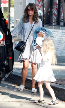 Rebecca Gayheart with daughter Georgia Dane