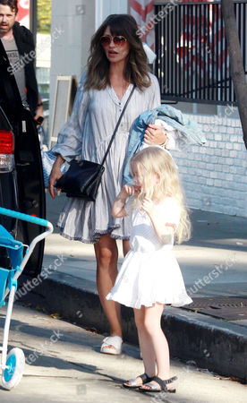 Editorial image of Rebecca Gayheart and Eric Dane out and about, Los Angeles, America - 02 Apr 2016