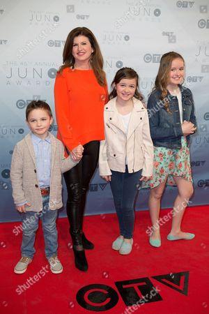 Editorial photo of JUNO Awards, Arrivals, Calgary, Canada - 03 Apr 2016