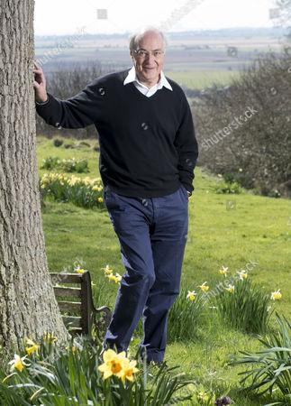 Michael Howard at his home