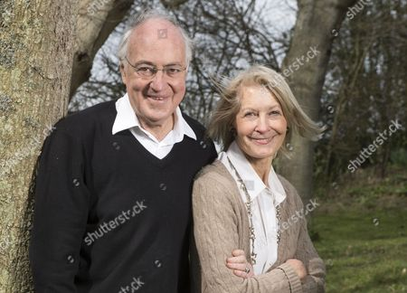 Michael Howard at his home with his wife Sandra