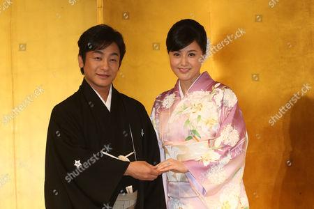 Ainosuke Kataoka and Norika Fujiwara