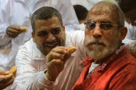 Editorial image of Trial of members of the Muslim Brotherhood, Cairo, Egypt - 03 Apr 2016