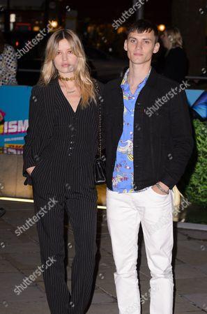 Georgia May Jagger with Josh McLellan