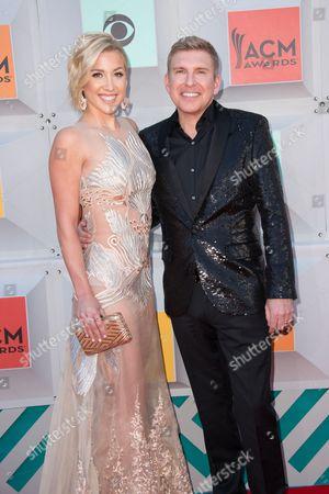 Savannah Chrisley and Todd Chrisley