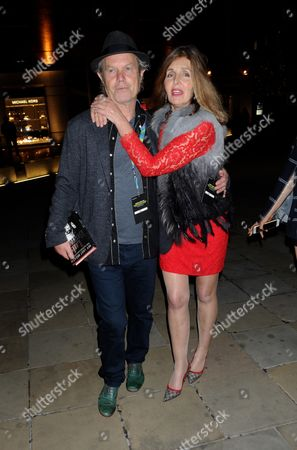 Chris Jagger and Wife