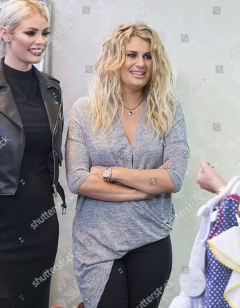 Stock Image of Chloe Simms and Danielle Armstrong