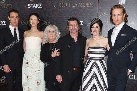 Editorial image of 'Outlander' TV series premiere, New York, America - 04 Apr 2016