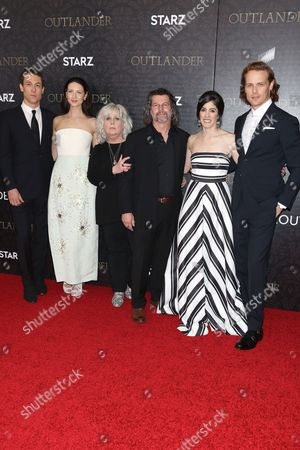 Editorial photo of 'Outlander' TV series premiere, New York, America - 04 Apr 2016