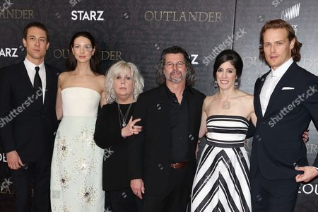 Editorial picture of 'Outlander' TV series premiere, New York, America - 04 Apr 2016