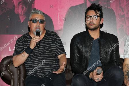 Editorial picture of La ley 'Adaptacion' album Launch, Mexico City, Mexico - 04 Apr 2016