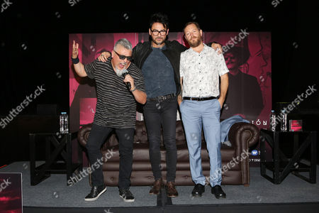 Editorial picture of La ley 'Adaptacion' album Launch, Mexico City, Mexico - 04 Apr 2016