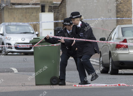 Editorial image of 17 year old stabbed to death, New Cross, London, Britain - 04 Apr 2016