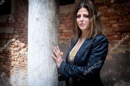 Stock Photo of Nathalie Handal