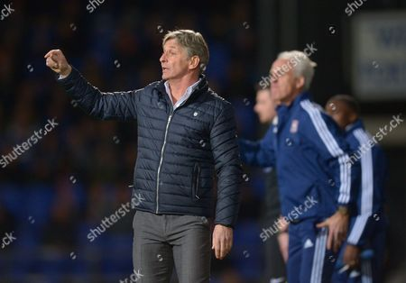 Charlton Athletic Manager Jose Riga during the Sky Bet Championship match between Ipswich Town and Charlton Athletic played at Portman Road, Ipswich on April 5th 2016