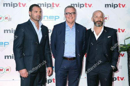 Editorial photo of MIPTV Opening Party, Cannes, France and 04 Apr 2016