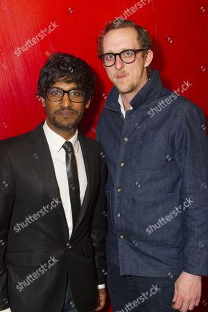 Stock Photo of Rudi Dharmalingam (Cole) and Leo Bill