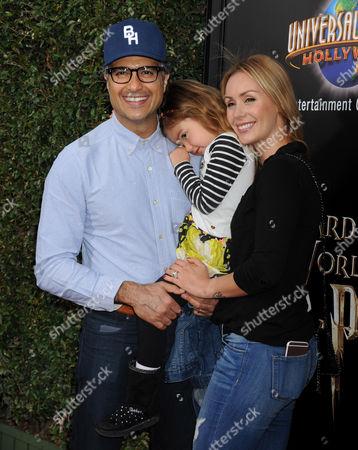 Jaime Camil, wife Heidi Balvanera and daughter Elena Camil