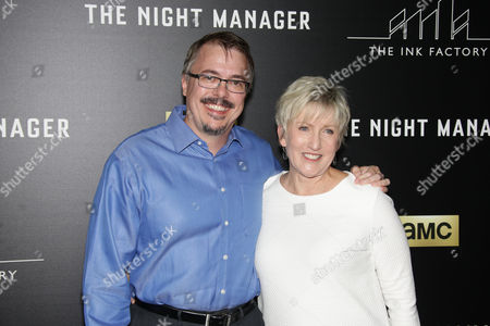 Vince Gilligan and Holly Rice