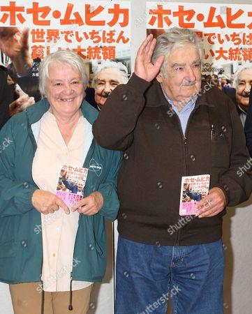 José Mujica, former Uruguay president, and his wife Lucia Topolansky