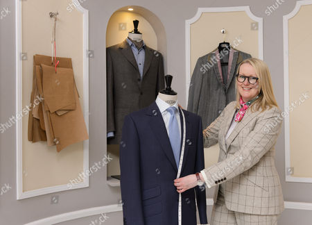 Editorial image of Kathryn Sargent, First Female Master Tailor Opens Shop on 37 Savile Row, London, Britain - 06 Apr 2016