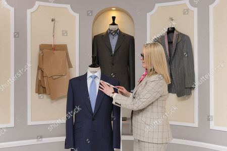 Editorial photo of Kathryn Sargent, First Female Master Tailor Opens Shop on 37 Savile Row, London, Britain - 06 Apr 2016