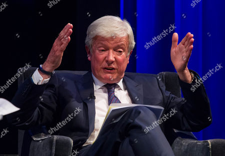 Stock Image of Tony Hall, Director General of the BBC