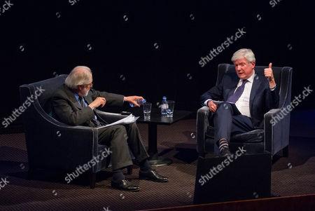 Lord David Puttnam and Tony Hall
